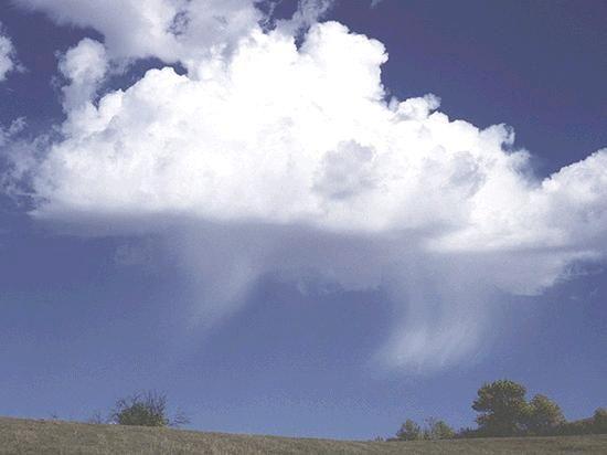 Las Nubes, Adornos En Los Cielos