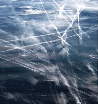Las nubes de estelas de aviones están calentando el Ártico