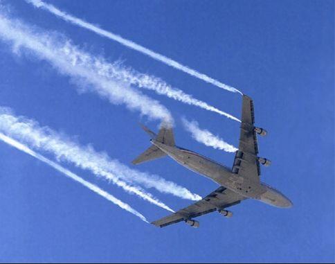 Las Nubes De Los Aviones Aumentan La Temperatura Global