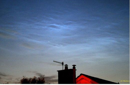 Las Nubes Noctilucentes Se Intensifican Sobre Europa