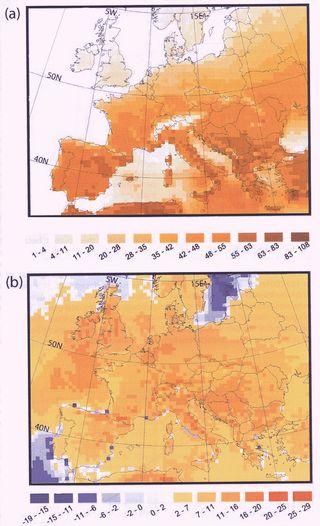 Las olas de calor del año 2003: ¿Una señal de la tendencia térmica en los futuros veranos?