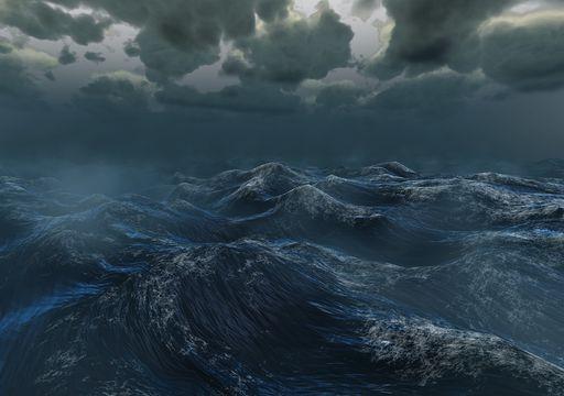 Olas gigantes en el Mediterráneo, ¡las más grandes registradas!