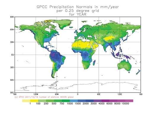 Las Tendencias Observadas En La Precipitación Anual Revelan Riesgos Subestimados En Todo El Mundo
