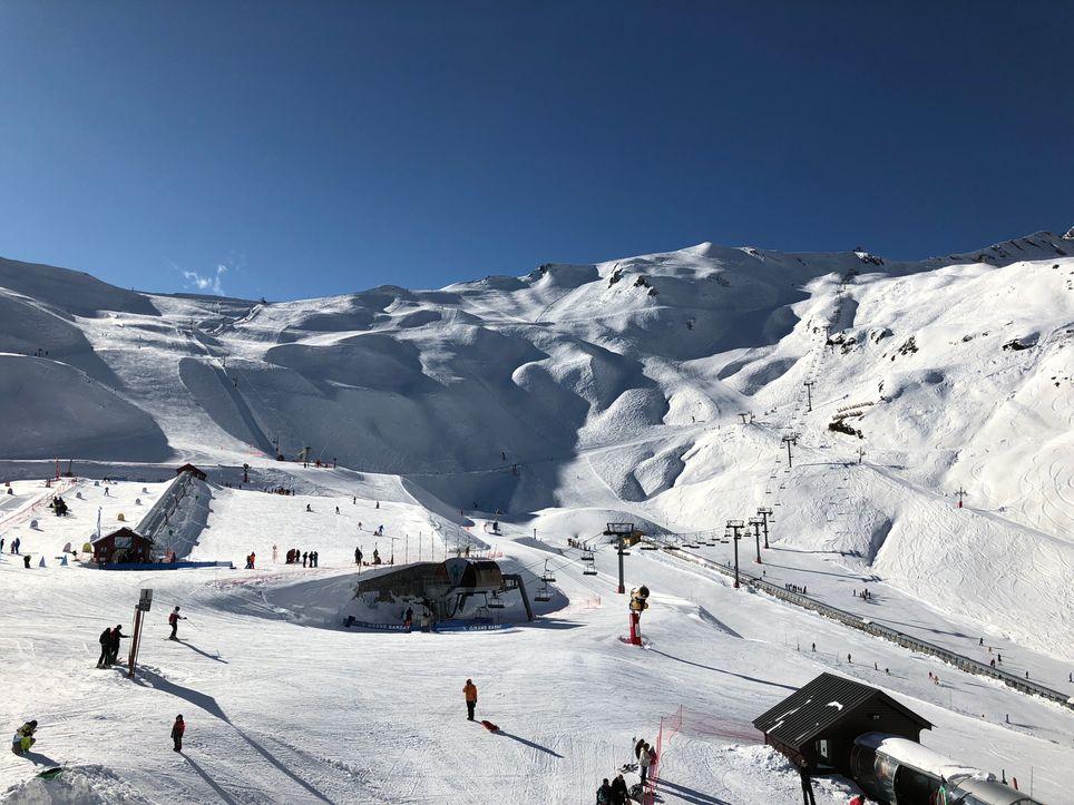 Neige abondante dans les Pyrénées