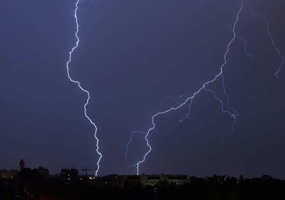 Blitzschlag ist lebensgefährlich