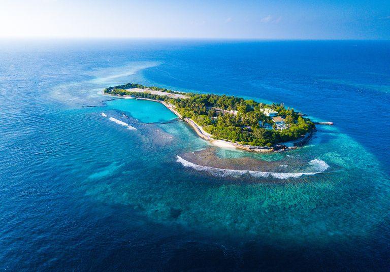 Maldives montée des eaux