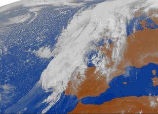 Leslie: el primer huracán de categoría 1 que casi llega a nuestro país