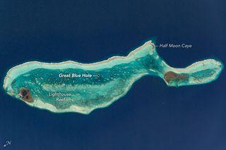 Lighthouse Reef y el Gran Agujero Azul