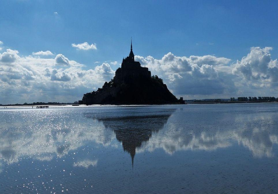 El conocido Mont Saint Michel fue un auténtico reclamo para turistas.