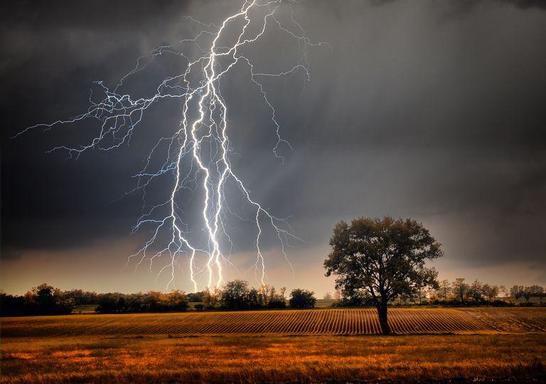 Primavera septiembre tormentas clima tiempo