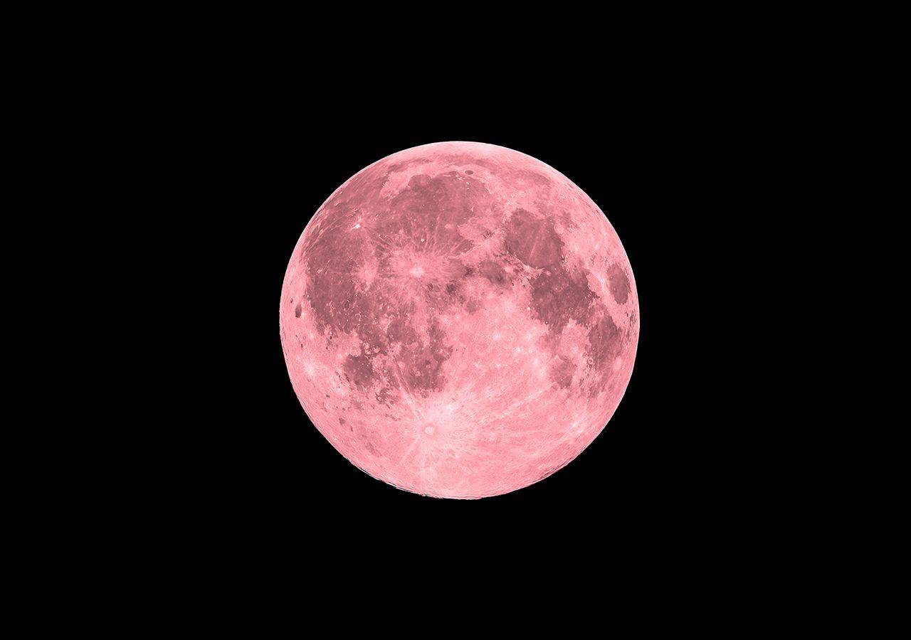 """La superluna rosa ya casi está aquí, ¿cuándo es y por qué es """"rosa""""?"""