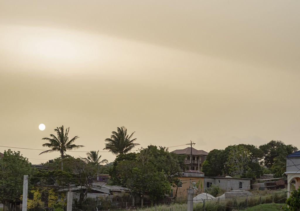Polvo del Sahara llegará al país