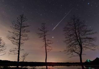 Llegan las Líridas, la lluvia de estrellas de abril