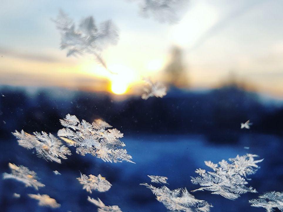 Nieve Nevadas Frío Polar Heladas Temperatura