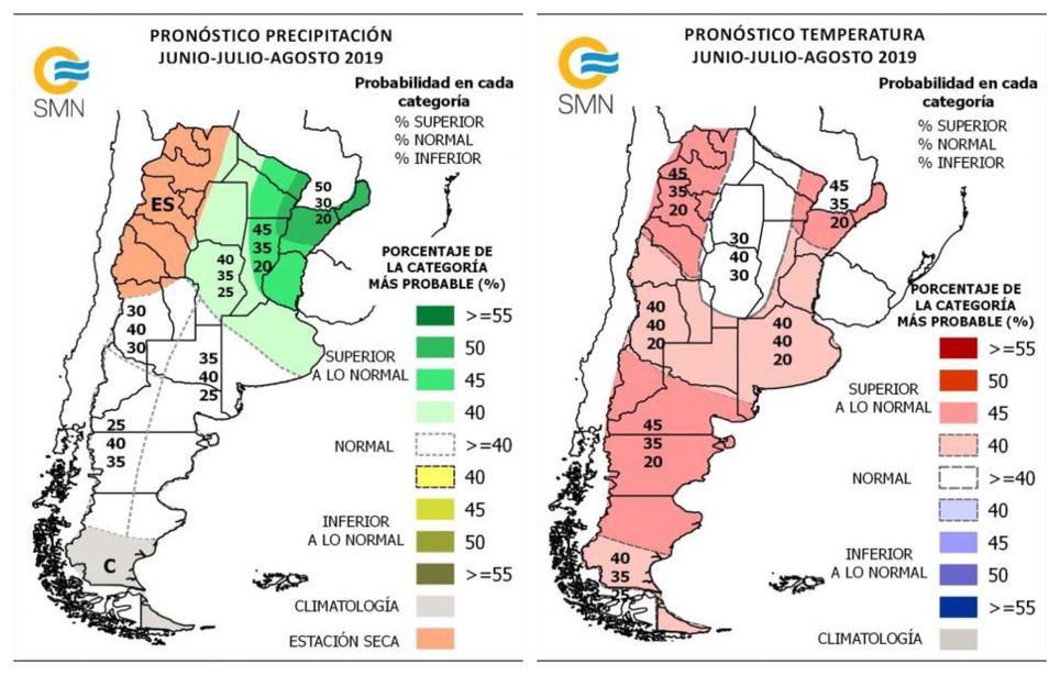 Pronóstico climático trimestral