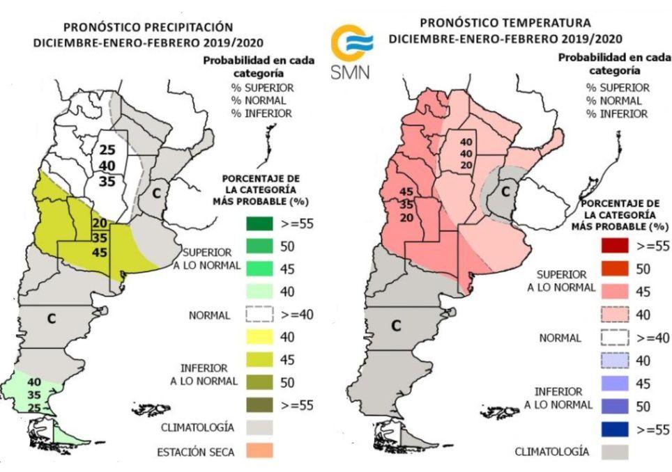 timepo, clima, pronostico, verano, tendencia, temperaturas, precipitacion, lluvias