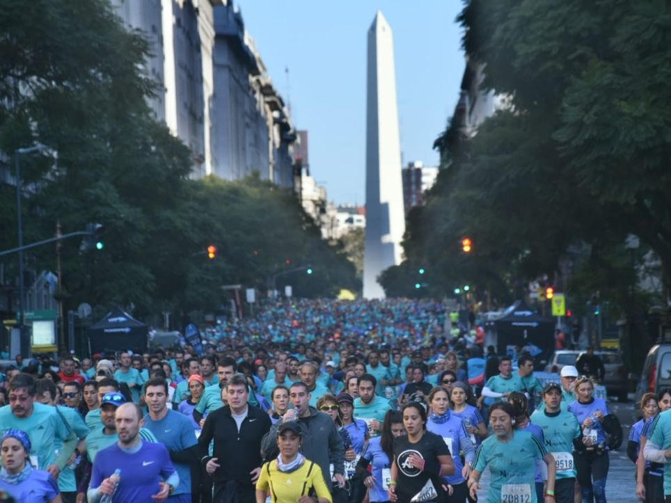 21K Buenos Aires Naranja media maratón