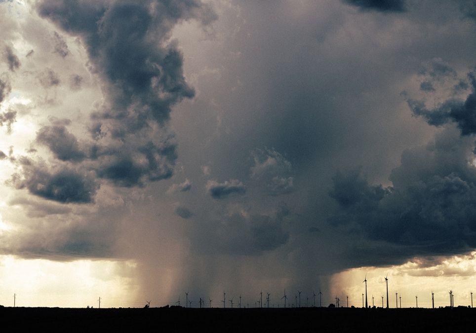 Lluvia Tormenta Cultivos