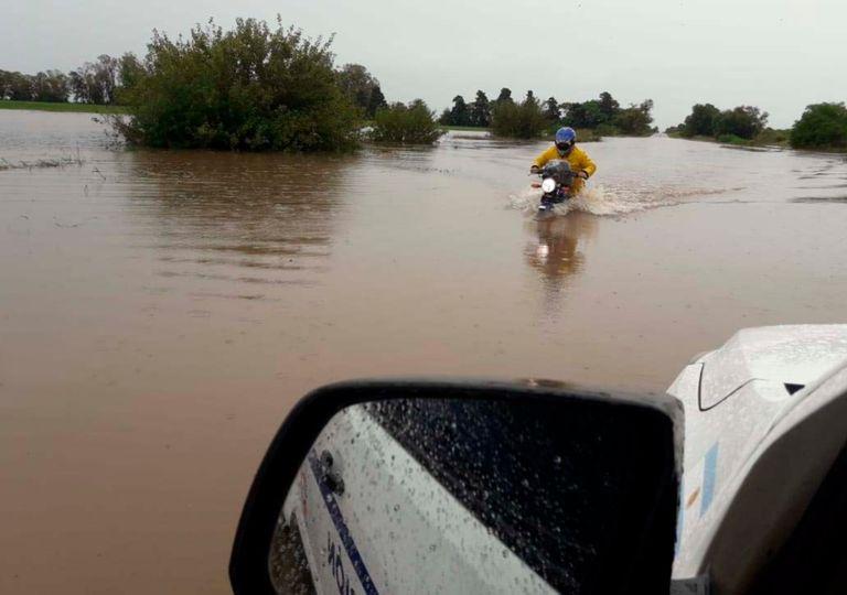 Santa Fe lluvias inundación Galvez