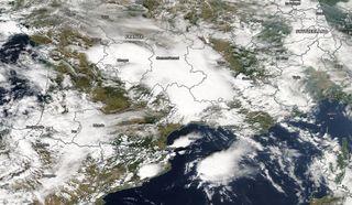 Lluvias extremas excepcionales cayeron sobre el sureste de Francia