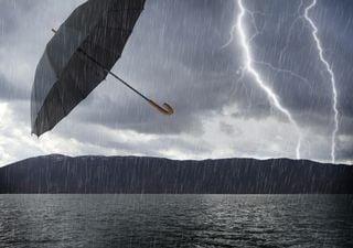 Lluvias y vientos fuertes hasta el sábado, llega la borrasca Elsa