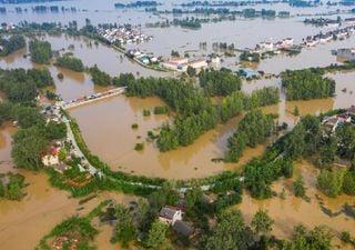 Lluvias torrenciales afectan 24 provincias en China