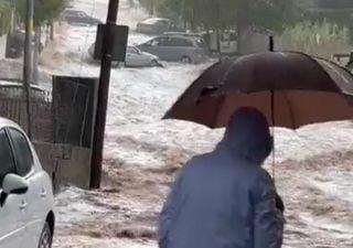 Neue heftige Unwetter in Teilen Spaniens: Schwere Überschwemmungen!