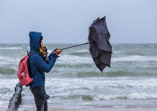 Lluvias, viento y frío por el sistema frontal 17