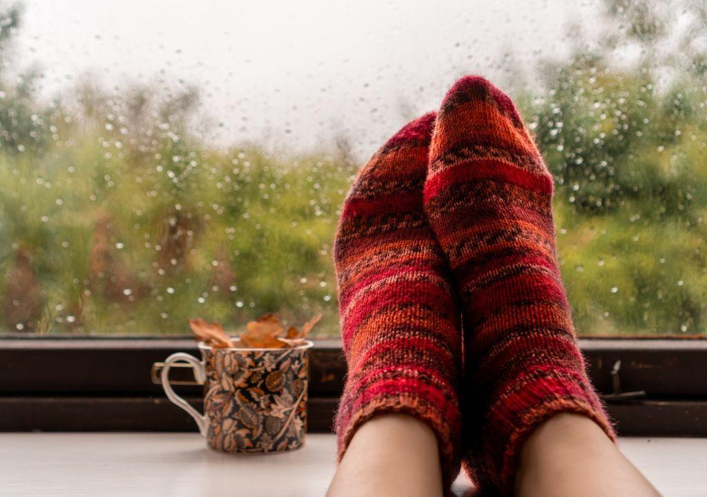 Otoño mayo frío lluvias