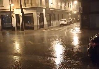 Las lluvias y las tormentas barren el sur de la Península