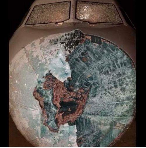 Lo Que Puede Hacer El Granizo A Un Avión