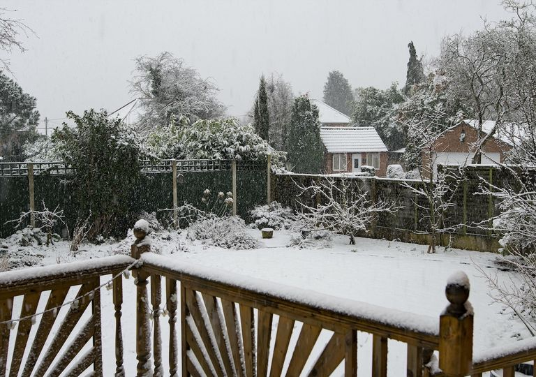 Heavy snow was experienced in South Yorkshire during winter this year.