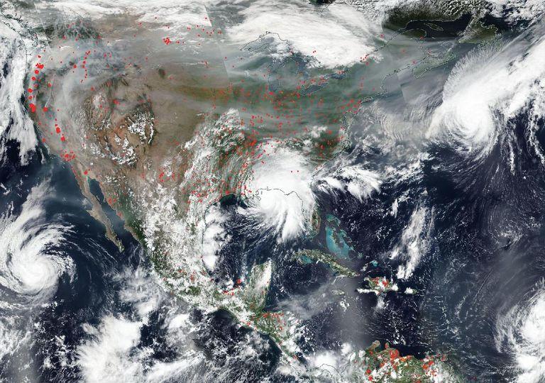 huracanes septiembre 2020
