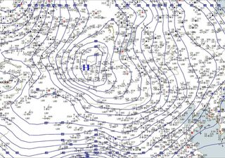 Barómetros 'explotan' en Asia: anticiclón y ciclón muy anómalos