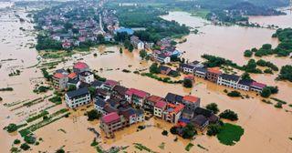 Los desastres meteorológicos en 2020 y el calentamiento global