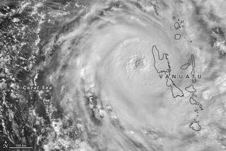 Los destrozos de ciclón tropical Harold conviven con el coronavirus