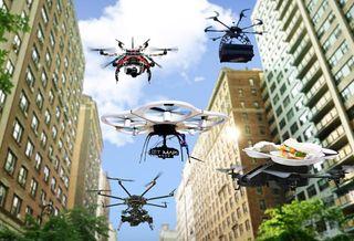 Los drones necesitan pronósticos de aviación