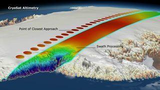 Los glaciares patagónicos en retirada