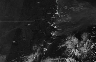 Los grandes incendios de Australia se ven en la noche desde el espacio