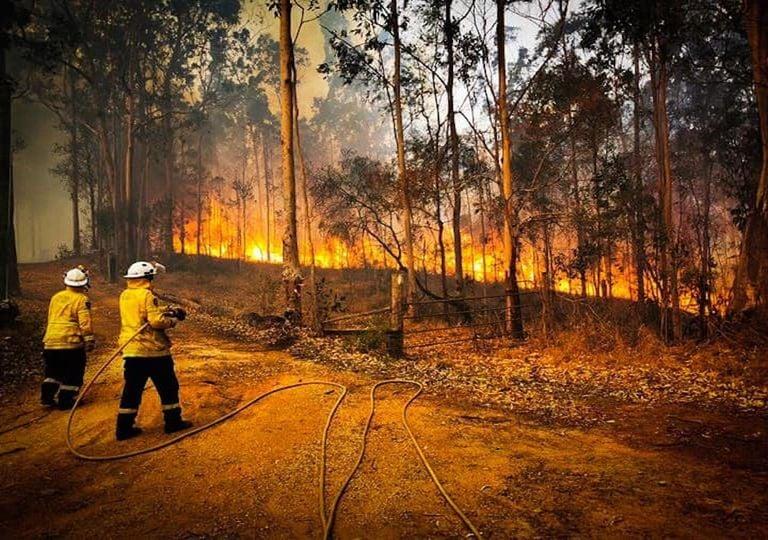 incendios forestales, Australia