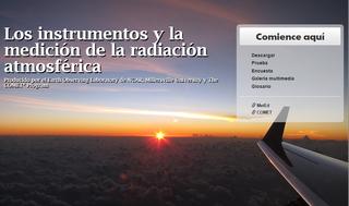 Los instrumentos y la medición de la radiación atmosférica