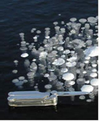 Los lagos que se derriten en Siberia emiten gas efecto invernadero