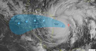 Los meteorólogos sobrecogidos por los datos del huracán Iota