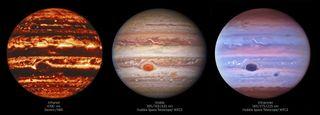 Los misterios de Júpiter expuestos en detalle multicolor