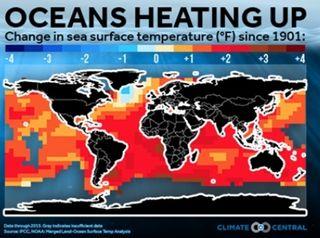 Los océanos de la Tierra han absorbido 60 por ciento más calor del que se pensaba