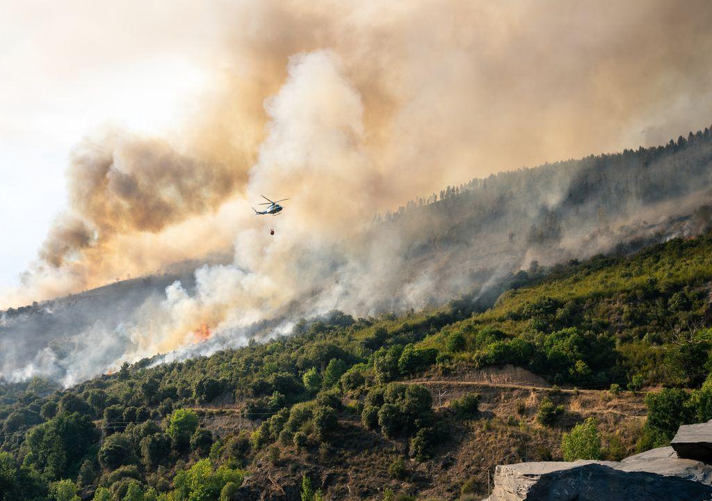 Incendio forestal España