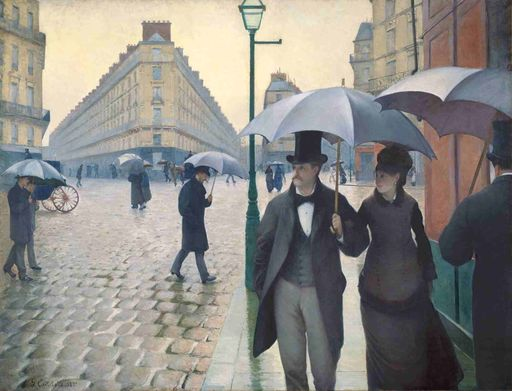 Los primeros paraguas