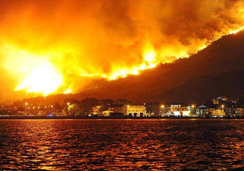 Cambio climático Ola de calor incendios