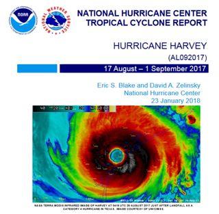 Los secretos del huracán Harvey