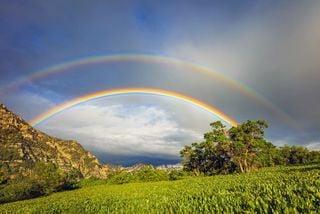 ¿Tiene siete colores el arcoíris?